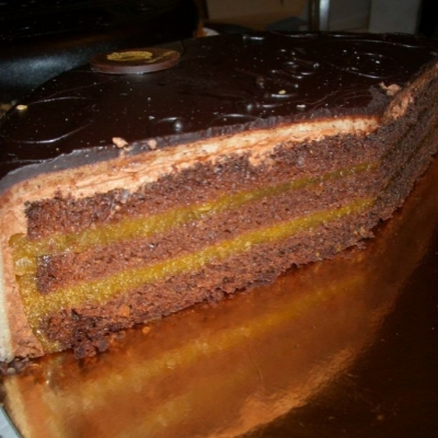 Sacher-Torte Portion